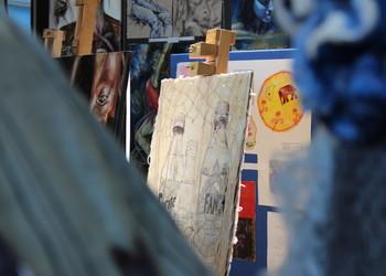 Art Exhibition is crowd pleaser