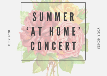 Sensational Summer 'at home' Concert